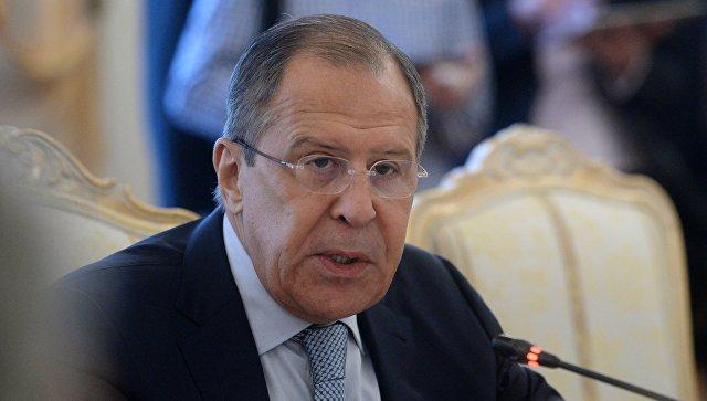 Лавров: РФ обеспокоена возрастающей активностью ВСУ вДонбассе