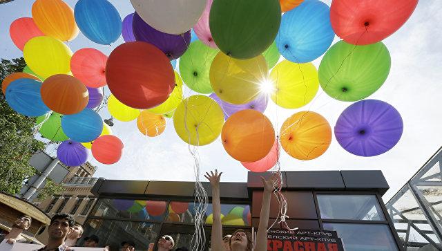 Мэрия Одессы желает запретить проведение марша геев илесбиянок