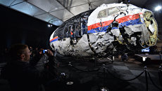 Доклад Совета безопасности Нидерландов по причинам крушения Boeing 777 Malaysia Airlines. Архивное фото