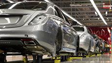 Завод по производству легковых автомобилей компании Даймлер. Архивное фото