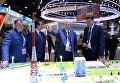 Председатель Высшего совета партии Единая Россия Борис Грызлов на XX Петербургском международном экономическом форуме