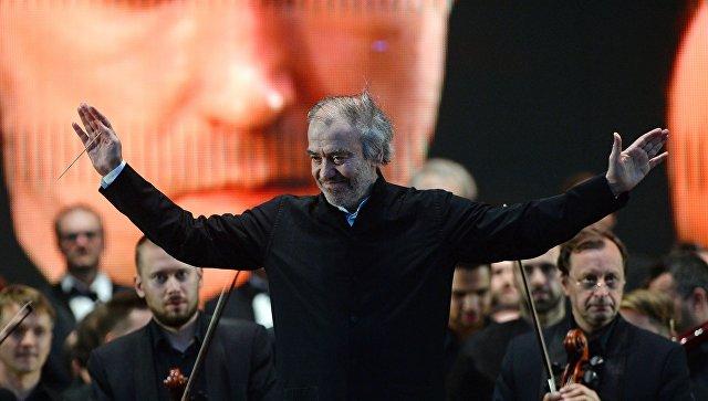Художественный руководитель-директор, главный дирижер Мариинского театра Валерий Гергиев. Архивное фото