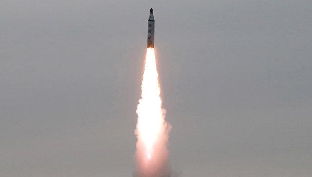 Баллистическая ракета КНДР. 22 июня 2016