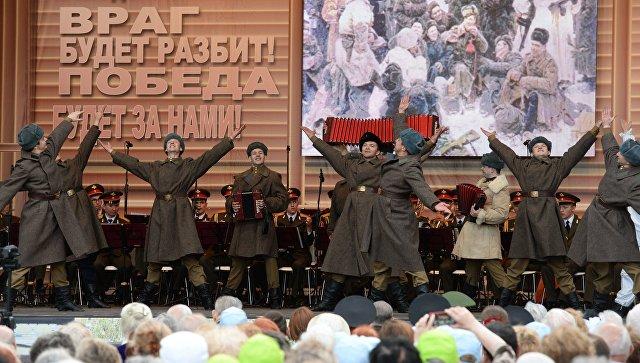 Наплощади Белорусского вокзала 9мая пройдет акция «Песни Победы»