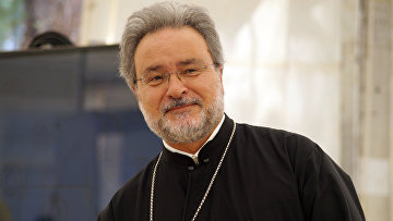 Советник патриарха Константинопольского Варфоломея архидиакон Иоанн Хрисавгис