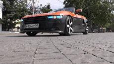 Российский спорткар на улицах Севастополя: как выглядит родстер Крым