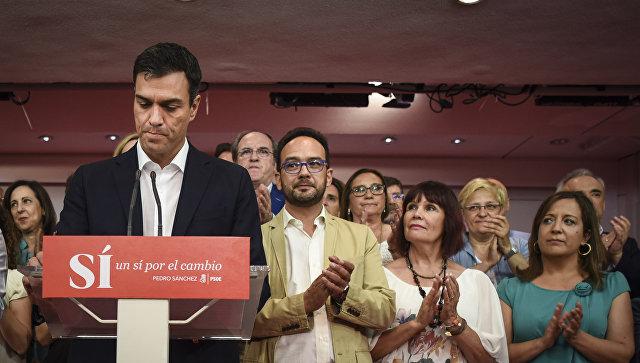 Премьер Испании Педро Санчес. Архивное фото