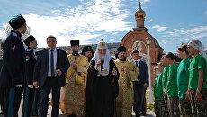 Патриарх Московский и всея Руси Кирилл посетил Республику Коми