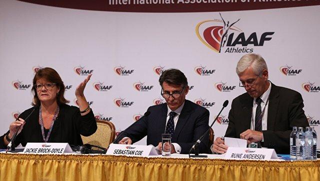 Президент IAAF Себастьян Коу. Архивное фото