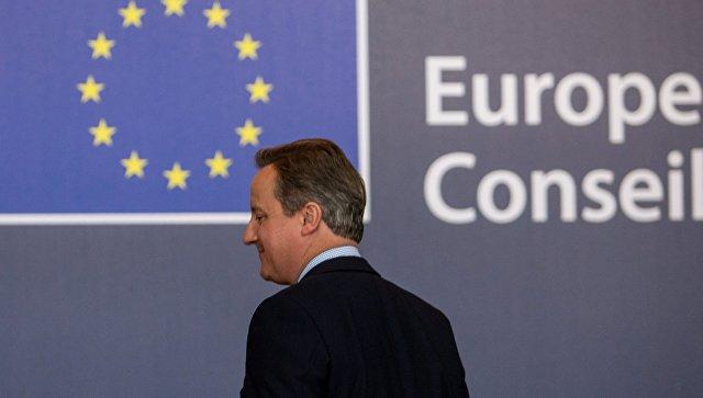 Британский бывший премьер-министр Кэмерон предрек провал евро