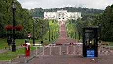 Здание парламентской ассамблеи Северной Ирландии в Белфасте. Архивное фото