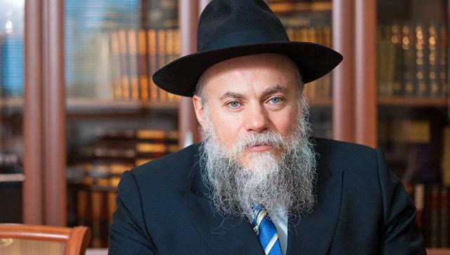 Президент Федерации еврейских общин России (ФЕОР) раввин Александр Борода. Архивное фото