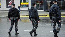 Полицейские в Минске. Архивное фото