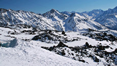 Кавказские горы в Кабардино-Балкарии