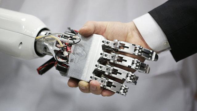 Технологическая платформа для создания человекоподобного робота. Архивное фото