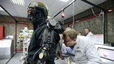 Демонстрация новейших военных технологий. Архивное фото