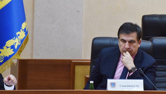 Грузинский и украинский государственный и политический деятель Михаил Саакашвили