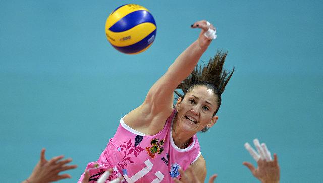Игрок ВК Динамо (Краснодар) Татьяна Кошелева. Архивное фото