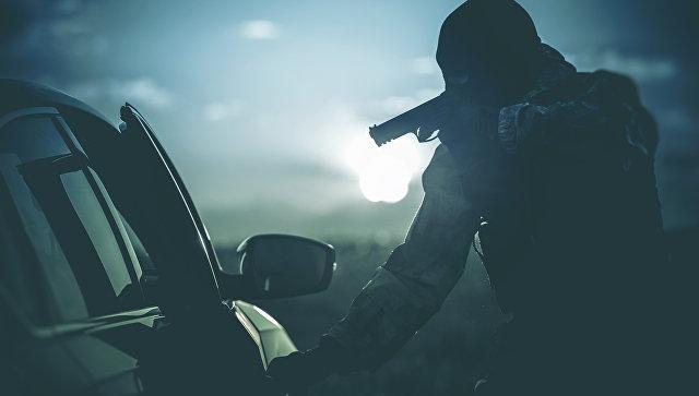 Вооруженное нападение на автомобиль