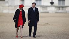 Британские политики Тереза Мэй и Дэвид Кэмерон. Архивное фото