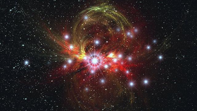 Сверхновая звезда. Архивное фото