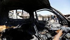Последствия теракта в окрестностях Багдада, Ирак. Архивное фото