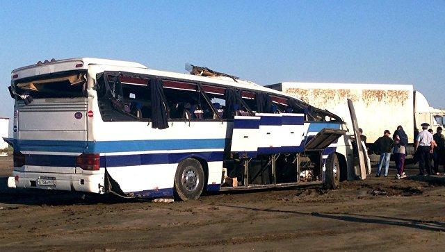 Автобус с40 пассажирами попал в трагедию под Нижним Новгородом