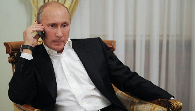 Путин иЭрдоган втелефонном разговоре обсудили Сирию