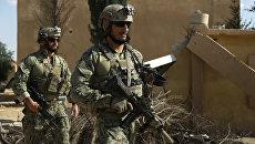 Американский спецназ в сирийской провинции Ракка. Архивное фото