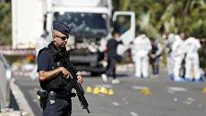 Французский полицейский. Архивное фото