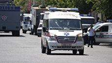 Автомобиль скорой помощи в Армении. Архивное фото
