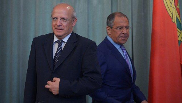 Встреча С.Лаврова с министром иностранных дел Португалии А.Сантушем Силвой. Архивное фото