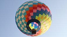 Полет на воздушных шарах на 15-м Фестивале воздухоплавания Золотое кольцо России в Переславле-Залесском