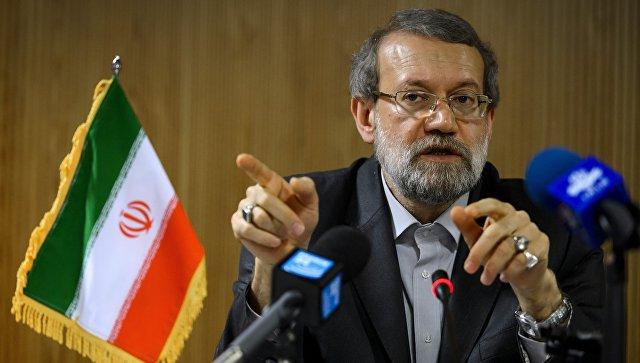 Председатель парламента Ирана Али Лариджани. Архивное фото