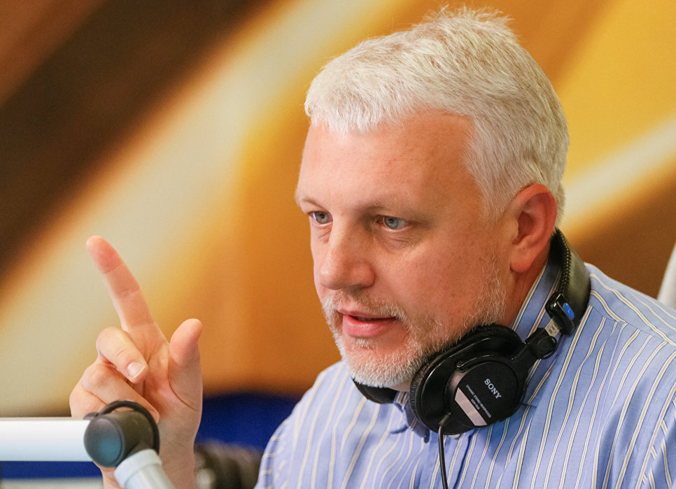 Журналист Павел Шеремет, 2015 год