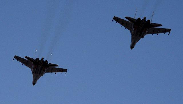 Истребители Су-35С. Архивное фото