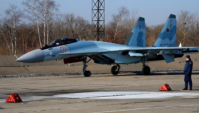 Самолет Су-35C. Архивное фото