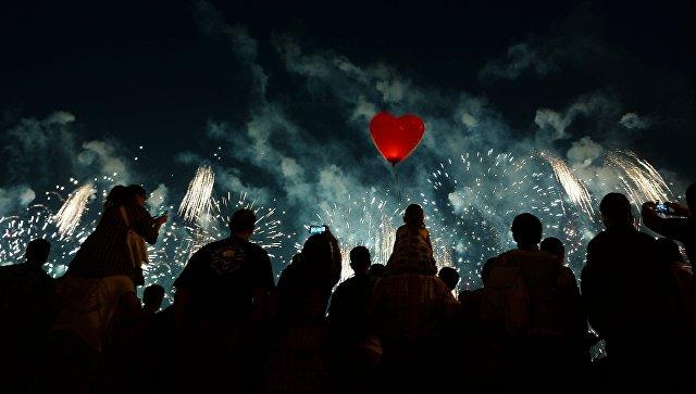 Нашоу интернационального фестиваля фейерверков 19-20августа истратят 27 тонн пиротехники