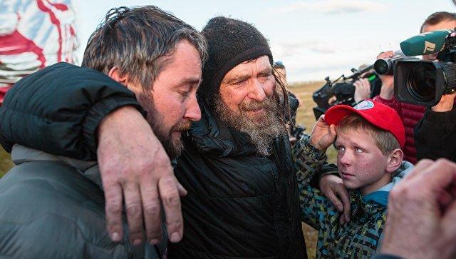 Путешественник Федор Конюхов приземлился в Австралии после кругосветного путешествия на воздушном шаре