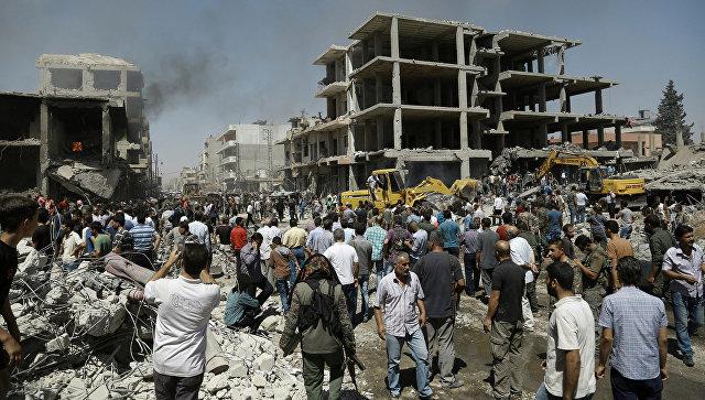 В результате теракта в сирийском Камышли погибли 44 человека