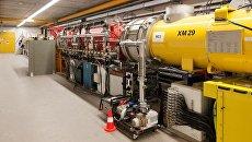 Инжектор электронов в ускорителе лазера XFEL. Архивное фото