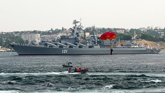 Генеральная репетиция парада ко Дню ВМФ России в Севастополе. Архивное фото
