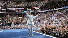 Кандидат в президенты США Хиллари Клинтон. 29 июля 2016
