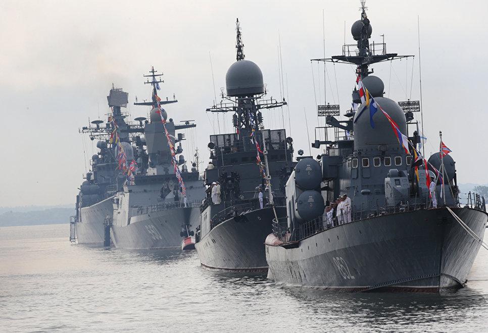 Черноморский флот получает новые фрегаты