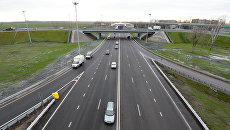 Объездная дорога на новом платном участке автомобильной дороги М-4 Дон. Архивное фото
