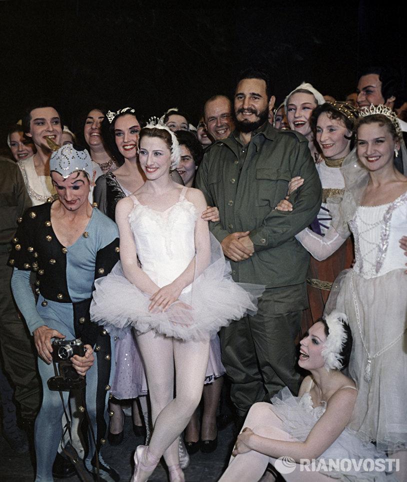 Визит в СССР лидера кубинской революции, Первого секретаря ЦК КП Кубы, Председателя Совета министров Фиделя Кастро