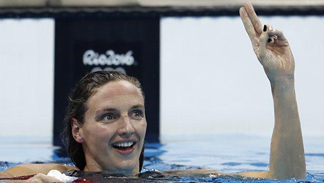 Венгерка Хоссу смировым рекордом одолела вкомплексном плавании на400м