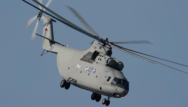 Многоцелевой транспортный вертолет Ми-26. Архив