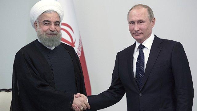 Владимир Путин объявил  обукреплении «дружеских отношений» сИраном