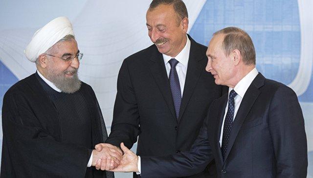 ВАзербайджан приехал президент Ирана